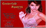Centerfold Squares DOS Title screen (EGA)
