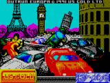 OutRun Europa ZX Spectrum Load screen