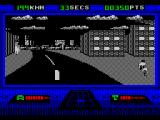 OutRun Europa ZX Spectrum It is possible to go off-road - to a degree - and hit buildings