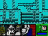 Kong's Revenge ZX Spectrum The character is nicely drawn and climbs the ladder convincingly