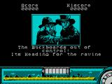 Back to the Future Part III ZX Spectrum The game has a 'story board' style introduction