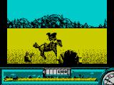 Back to the Future Part III ZX Spectrum Leap obstacles my horse doesn't like