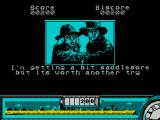 Back to the Future Part III ZX Spectrum Nice bit of humour in the replay screen