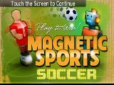 Magnetic Sports Soccer Android Title screen