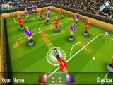 Magnetic Sports Soccer Android Pulling the player back for a shot