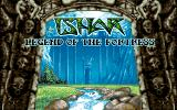 Ishar: Legend of the Fortress DOS Title Screen