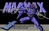 MagMax Commodore 64 Title Screen