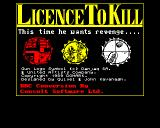 007: Licence to Kill BBC Micro Loading screen