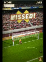 Flick Kick Football Android Oh no! Hit the post