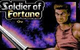 Soldier of Fortune Commodore 64 Title Screen