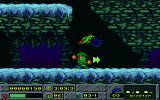 Jazz Jackrabbit: Holiday Hare 1994 DOS Jazz with a bird with him