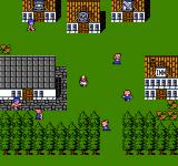 Final Fantasy III NES Town exploration