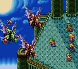 Romancing SaGa 3 SNES High-level battle