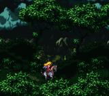 Romancing SaGa 3 SNES Riding through the forest...
