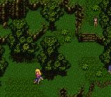 Romancing SaGa 3 SNES Enemies are visible on screen