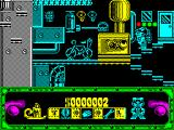Night Shift ZX Spectrum Beginning of the game.