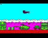 Strykers Run BBC Micro If only I could steal that huge tank. Unfortunately that lightly armoured car is all I can take.