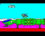 Strykers Run BBC Micro More scenery graphics of the enhanced version.