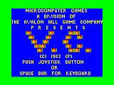 VC TRS-80 CoCo Title