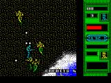 Mercs ZX Spectrum Took me a while to sort out the controls. Lots of the  enemy appeared. They did a lot of shooting but it was not focused. I'm still alive and I haven't worked out how to move or shoot yet.
