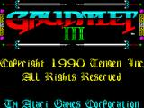 Gauntlet III: The Final Quest ZX Spectrum Load screen