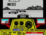 F-1 ZX Spectrum Ready to start. Somewhere in the middle of the grid.