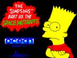 The Simpsons: Bart vs. the Space Mutants ZX Spectrum Load screen
