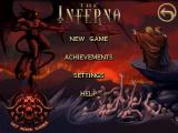 The Inferno Android Main menu