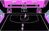 "GBA Championship Basketball: Two-on-Two DOS ""In-game"" screen"