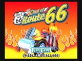 The King of Route 66 PlayStation 2 Title Screen