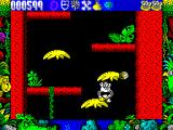 Tarzan Goes Ape! ZX Spectrum Made the mistake of collecting the necklace next. Snakes reappear when I hit the ground and have to be cleared again