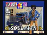 The King of Route 66 PlayStation 2 Driver selection