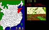 Romance of the Three Kingdoms PC-98 Natural events occur as well