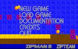 Zipman III DOS Main menu (shareware)