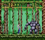 Lester the Unlikely SNES Boss fight against an angry gorilla