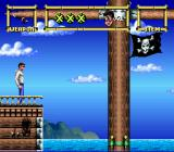 Lester the Unlikely SNES On board the pirate ship