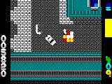 Miami Chase ZX Spectrum Its damaged my car but this bad guy rammed me and blew up, still scores me points though