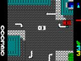 Miami Chase ZX Spectrum Missed him. The blue dot is my bullet