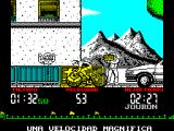 Tour 91 ZX Spectrum 53 kph is the fastest I managed, and then only briefly.