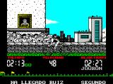 "Tour 91 ZX Spectrum Message reads ""Ruiz has come second"""