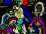 La Diosa de Cozumel ZX Spectrum Load screen