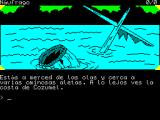 La Diosa de Cozumel ZX Spectrum Start of game translates as 