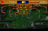 Shape Shifter TurboGrafx CD Boss battle against a mean Spider Mama