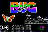 Bug Attack Apple II Title screen