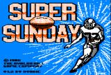 Super Bowl Sunday Apple II Title