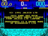 Cisco Heat: All American Police Car Race ZX Spectrum Credits