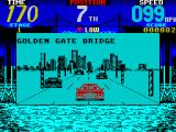 Cisco Heat: All American Police Car Race ZX Spectrum Sorry guys, no way is this the 'Golden Gate'. 