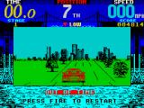 Cisco Heat: All American Police Car Race ZX Spectrum Out of time. This is when I remembered I needed to change gear.