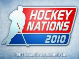 Hockey Nations 2010 Android Title screen