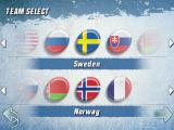 Hockey Nations 2010 Android Team selection